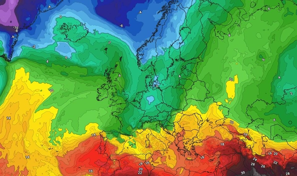 Weather forecaster: The chances of rain continue over the next week