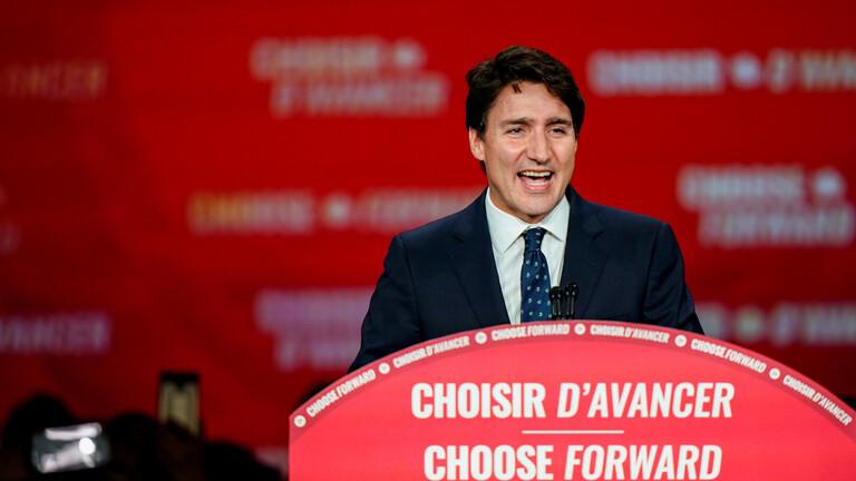 ترودو يعد بعد فوز حزبه في الانتخابات بجعل حياة الكنديين أكثر رفاهية