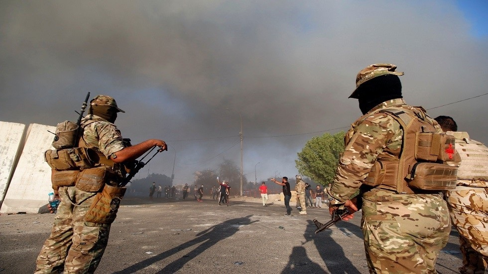 القوات العراقية تعلن مقتل 25 عنصرا لداعش وتدمير معسكر لهم بإنزال جوي