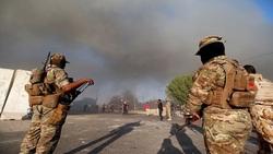 السلطات الامنية تؤكد سقوط صواريخ داخل المنطقة الخضراء المحصنة وسط بغداد