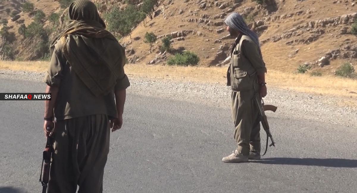 العمال الكوردستاني يعلن مقتل 4 من مقاتليه و100 عسكري تركي