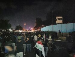 مقتل 24 محتجا واصابة نحو 2000 اخرين في العراق واعلان حظر تجوال بمحافظة
