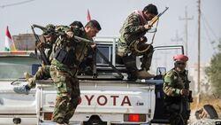 البيشمركة ترسل تعزيزات عسكرية لمنطقة شهدت هجمات دامية لداعش