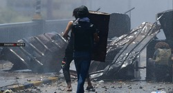 تظاهرتان في بغداد والقوات الأمنية تصد انتشاراً بالقنابل المسيلة