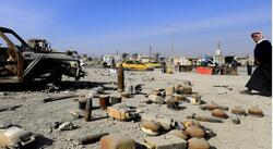 ثمانية جرحى بإنفجار مقذوف من مخلفات داعش شمالي الموصل