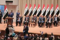 تحالف الحلبوسي يحدد موعد إستكمال حكومة الكاظمي