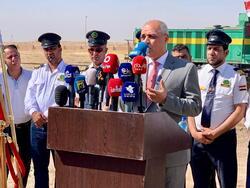 العراق يعيد افتتاح خط سكك حديد لنقل المشتقات النفطية بعد ان دمره داعش