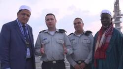 رجل دين عربي يزور الجيش الإسرائيلي ويتمنى له النصر