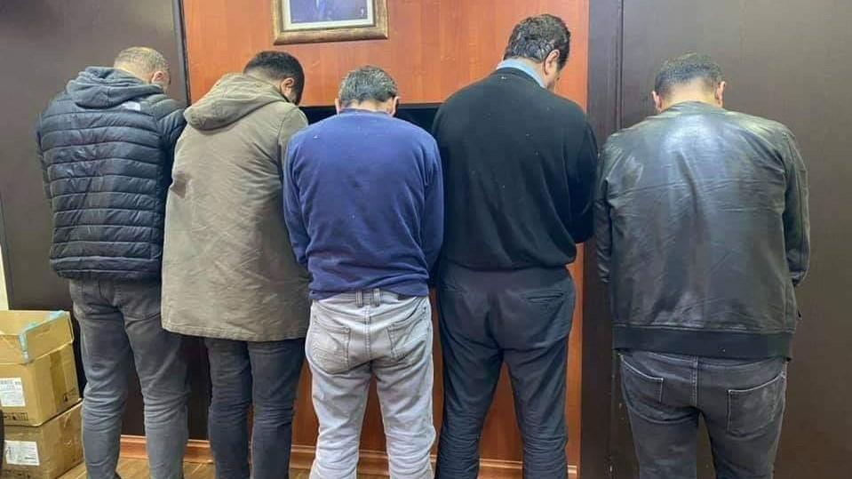 Asaish of Duhok arrests five drug dealers