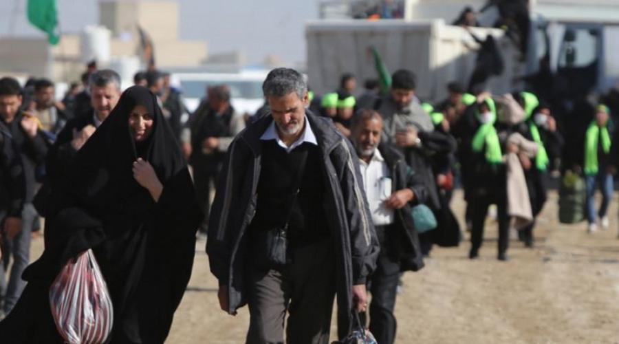 الايرانيون يدخلون العراق بدون تأشيرة حتى نهاية صفر