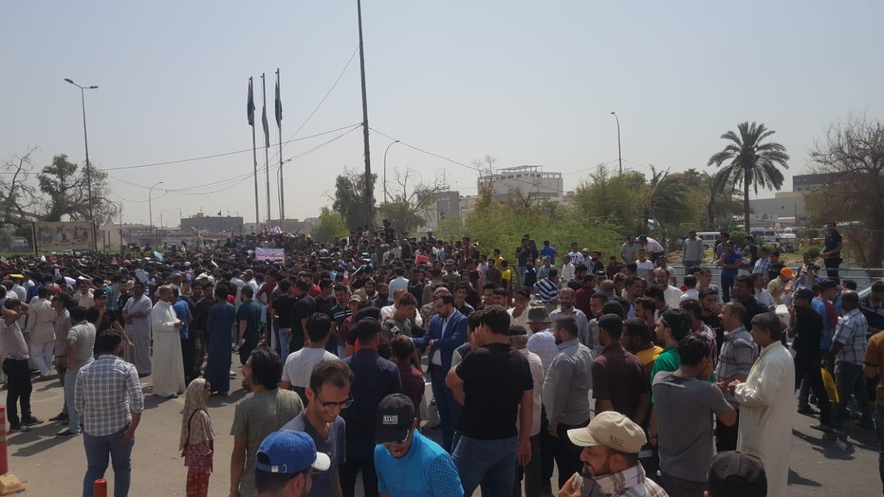 Source: More than 70 casualties among demonstrators in Basra