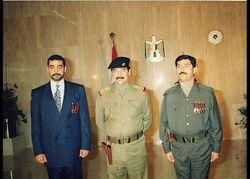 أمنية بغداد تحث على ملاحقة شخص تجول بصورة صدام حسين في العاصمة
