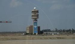 اندلاع حريق كبير في مقر أمني قرب مطار بغداد