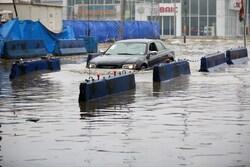 صور .. الامطار والفيضانات تغرق العديد من احياء مدينة الموصل