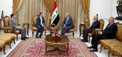 الرئيس العراقي يوضح لامريكا طبيعة موقفه من التطورات بالمنطقة: جنبونا الصراعات