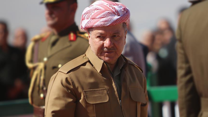 مسعود بارزاني يحضر مراسم اليمين الدستورية لرئيس اقليم كوردستان