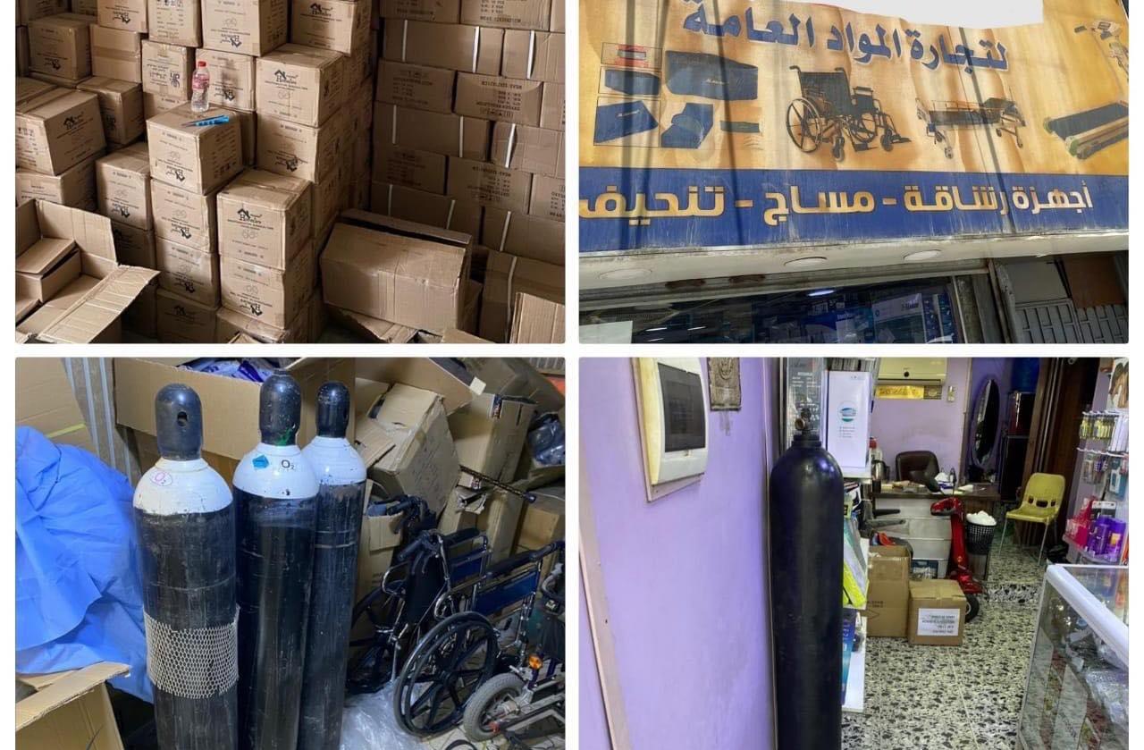 """الداخلية العراقية تعتقل اشخاصاً يحتكرون """"الاوكسجين"""""""