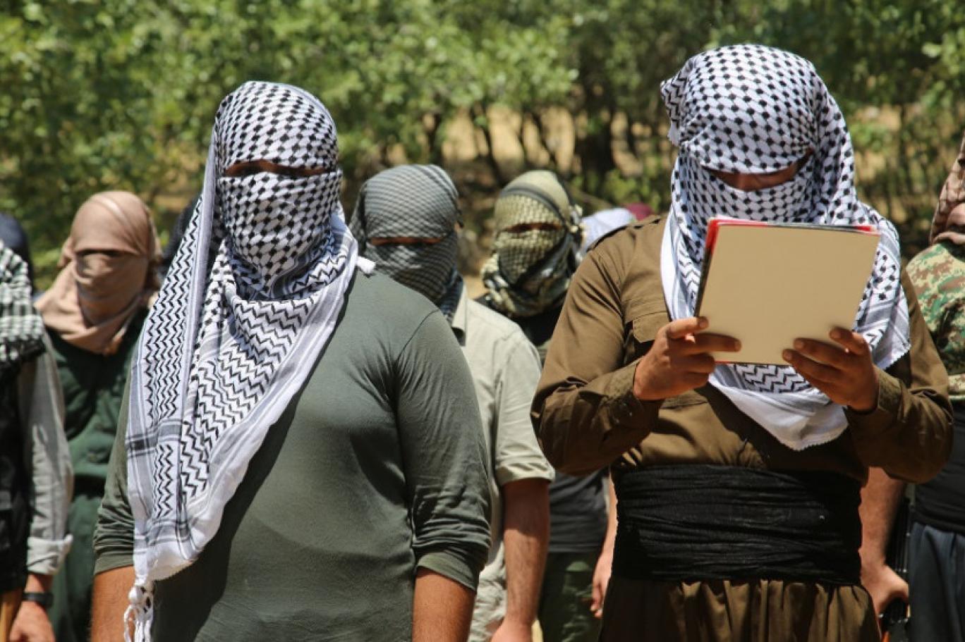 العمال الكوردستاني يرد على الآسايش بشأن مقتل عنصرين له بالسليمانية