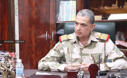 The chief of staff of the Iraqi army in Kirkuk prepare for a special operation against ISIS