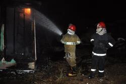 اندلاع حريق في مقر لأحد  فصائل الحشد الشعبي شرق بغداد