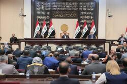 الحلبوسي يقرر رفع جلسة البرلمان الى الاثنين
