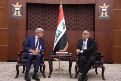 عبدالمهدي يبحث مع وفد اوربي كبير محاكمة عناصر داعش