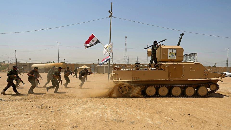 قصف جديد لمواقع للحشد الشعبي في الفلوجة