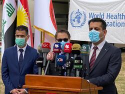 الصحة العالمية تزود اقليم كوردستان بمعدات طبية قيمتها نصف مليون دولار