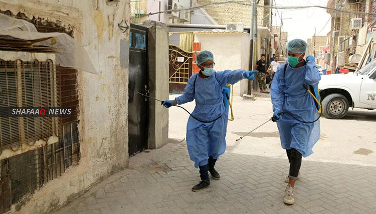 Baghdad announces 25 corona virus cases recoveries