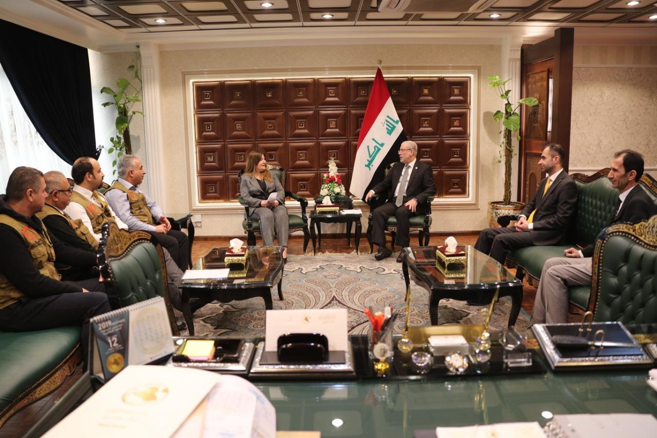 مؤسسة بارزاني الخيرية تشرح من بغداد طبيعة مساعداتها