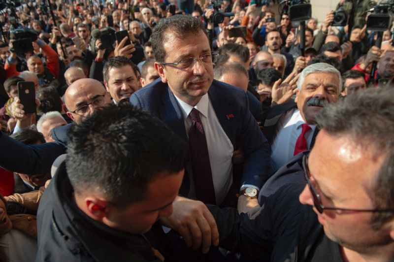 Turkey opposition win in disputed Istanbul vote confirmed: party