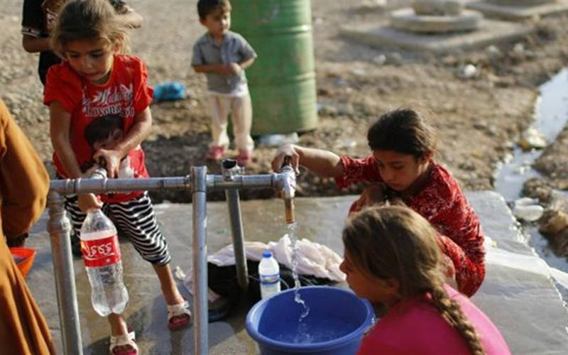 الموارد المائية تسعف ديالى بمحطة لتخفيف أزمة شح المياه