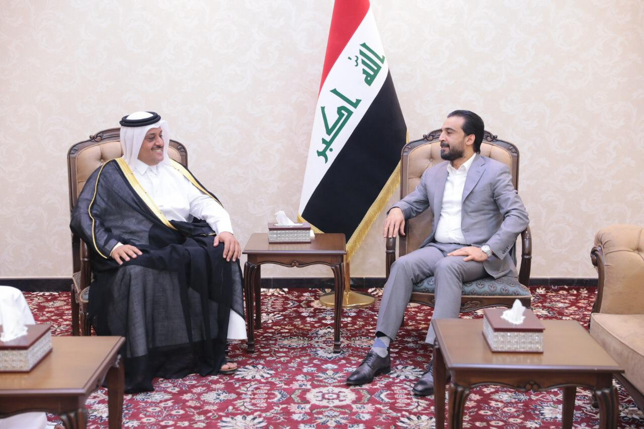 الحلبوسي يوجه دعوة لمسؤول قطري لزيارة بغداد