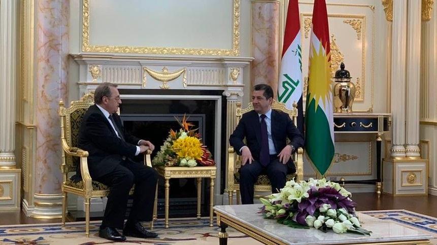 روسيا تسلّم رئيس حكومة كوردستان دعوة لحضور مؤتمر دولي