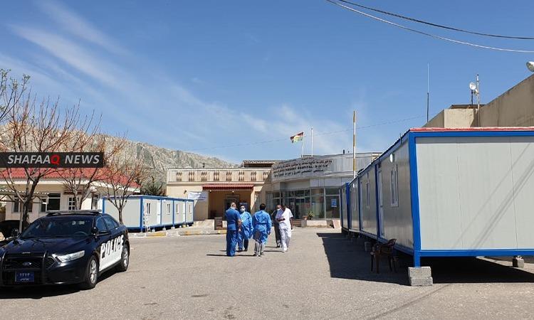 تسجيل اربع اصابات جديدة بفيروس كورونا في دهوك