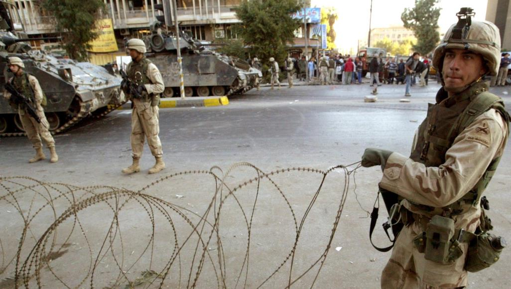 ترهمپ دگان وه ههڵهيگ ئهمريكا له عراق نهێد