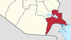 فيديو.. مصرع سائق باصطدام واحتراق صهاريج أقصى جنوبي العراق