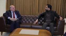 الانتخابات المبكرة وتشكيل الحكومة في مباحثات الحلبوسي- فؤاد حسين