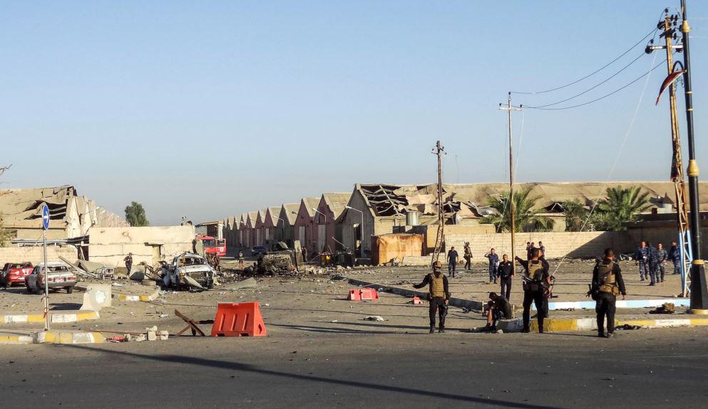 متظاهرون يقطعون طريق بغداد كركوك احتجاجا على اتهام للحشد الشعبي