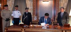 نيجيرفان بارزاني يوقع امراً اقليمياً بتعيين ثلاثة مسؤولين امنيين