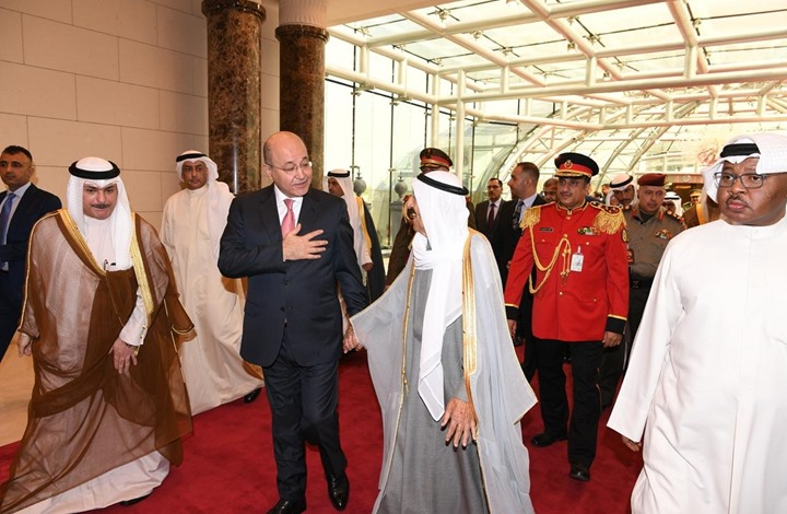 امير الكويت يزور بغداد وتوتر امريكا- ايران بمقدمة محادثاته