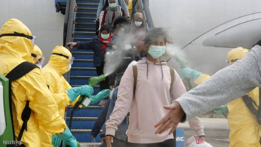 Including Iraq .. China imposes quarantine on arrivals from 25 countries