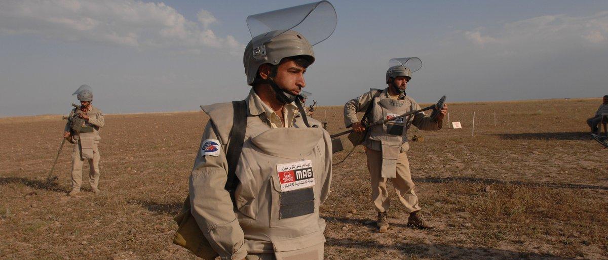 الامم المتحدة: 70% من المتفجرات غير المنفلقة تمنع عودة النازحين العراقيين