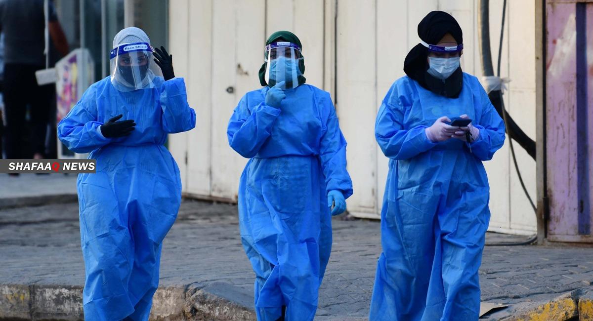 العراق يسجل 39 حالة وفاة و1095 اصابة جديدة بكورونا