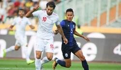 ايران تكتسح كمبوديا بـ 14 هدفا