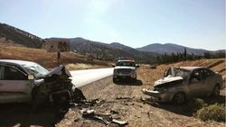 اصابات بحادث سير في دهوك
