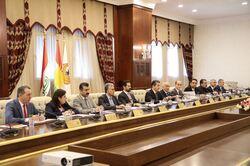 حكومة كوردستان تجتمع مع الوفد العائد من بغداد