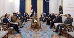 الرئاسات العراقية: استهداف الحشد استهداف للعراق ومحاولة لاشغاله عن القضاء على داعش