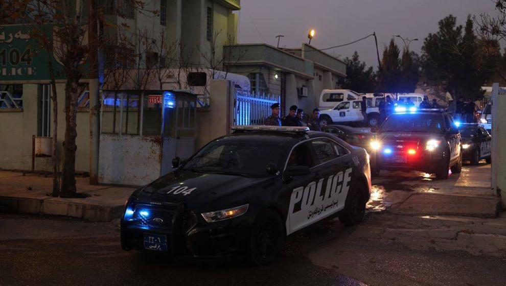 اصابات في نزاع مسلح بمنطقة في اقليم كوردستان