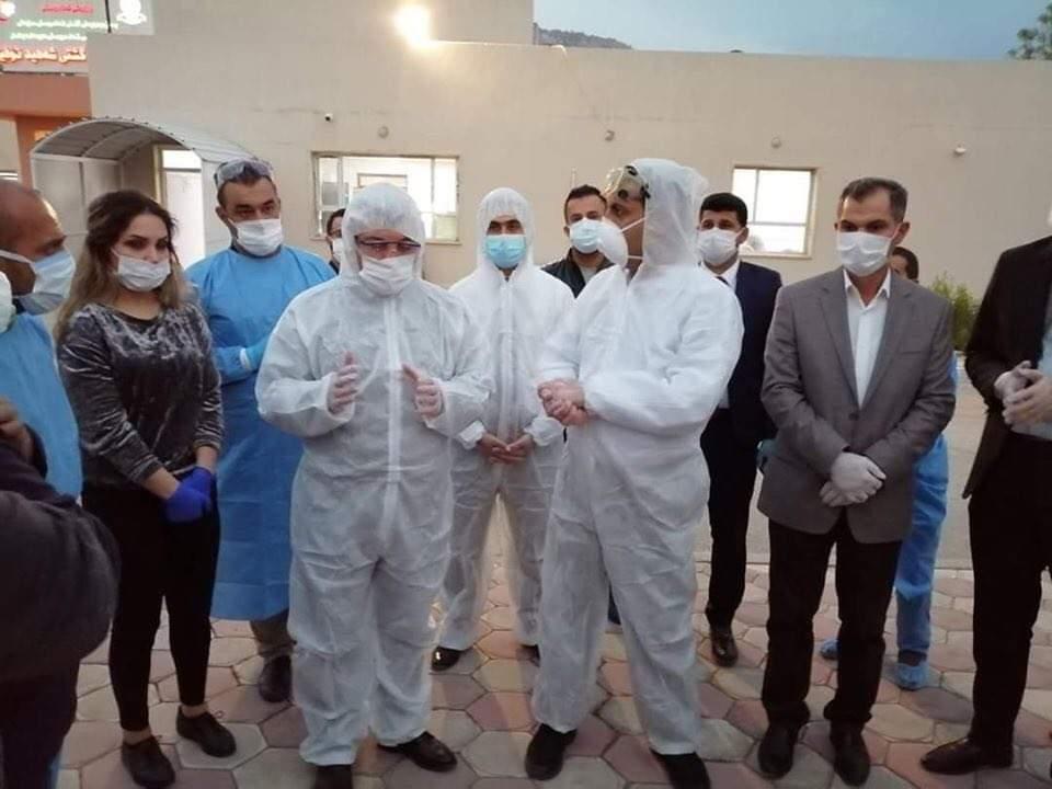 وزير صحة كوردستان يعلن لشفق نيوز استقرار إصابات دربندیخان وتخصيص مبلغ مالي